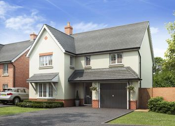 "Thumbnail 4 bedroom detached house for sale in ""Halesowen"" at Gold Furlong, Marston Moretaine, Bedford"