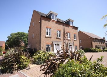 Thumbnail 3 bed semi-detached house for sale in Danube Drive, Swanwick, Southampton