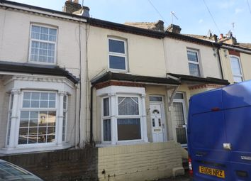 Thumbnail 2 bed terraced house to rent in Coopers Road, Northfleet, Gravesend