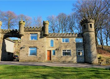 Thumbnail 4 bed detached house for sale in Raw End Road, Halifax