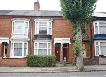 Thumbnail 3 bed terraced house to rent in Harrow Road, Leicester