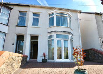 Thumbnail 3 bed semi-detached house for sale in Brynhyfryd Villas, Troedyrhiw, Merthyr Tydfil