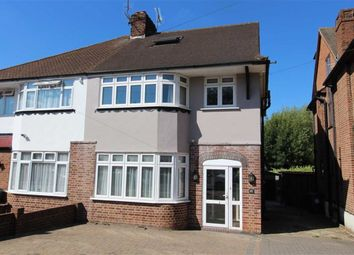 Thumbnail 4 bed semi-detached house for sale in Hawkwood Crescent, North Chingford, London