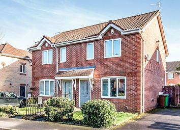 Thumbnail 3 bed semi-detached house to rent in Kerscott Road, Wythenshawe, Manchester
