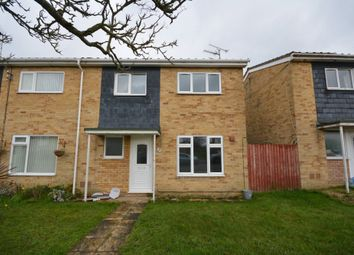 Thumbnail 3 bed semi-detached house to rent in Westhall Road, Lowestoft