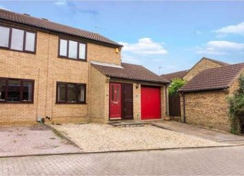 Thumbnail 2 bed end terrace house to rent in Linnet, Orton Wistow, Peterborough