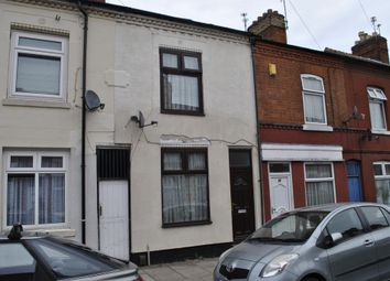 Thumbnail 3 bed terraced house for sale in Cecil Road, Leicester