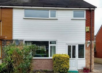 Thumbnail 3 bed semi-detached house to rent in Eagle Crescent, Eccleshall, Stafford