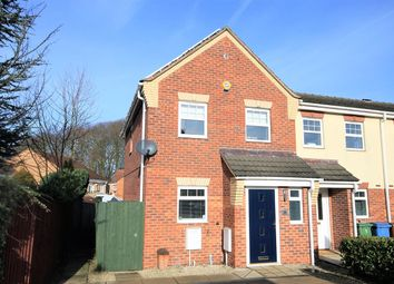 Thumbnail 3 bedroom end terrace house to rent in King George V Avenue, Mansfield