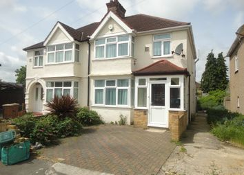 Thumbnail 4 bed semi-detached house to rent in Clevedon Gardens, Hounslow, Middlesex
