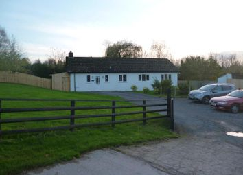 Thumbnail 3 bed detached bungalow to rent in Clovercroft, Wernddu, Ross Road, Abergavenny, Monmouthshire