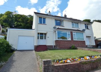 Thumbnail 5 bed semi-detached house for sale in Winstone Avenue, Torquay