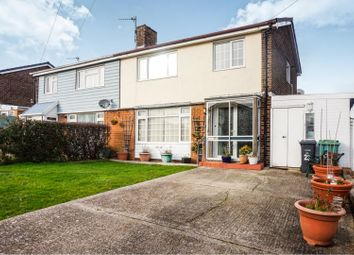 Thumbnail 3 bed semi-detached house for sale in Sherwood Road, Newport