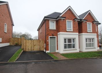 Thumbnail 3 bedroom semi-detached house to rent in Foxton Court, Newtownabbey