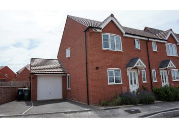 Thumbnail 3 bed end terrace house for sale in Codling Road, Evesham