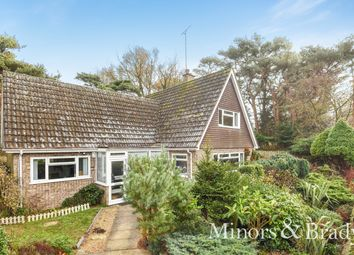 Thumbnail 3 bed detached bungalow for sale in Priory Close, St. Olaves, Great Yarmouth