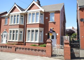 Thumbnail 3 bedroom semi-detached house for sale in Kenilworth Gardens, Blackpool