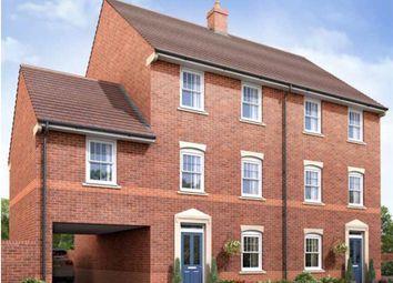 Thumbnail 4 bed semi-detached house for sale in The Belbury, Parklands, Woburn Sands, Milton Keynes, Buckinghamshire