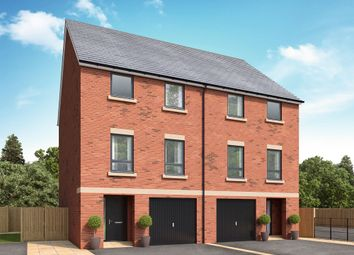 Thumbnail 4 bed town house for sale in Off Great North Road, Morpeth, Northumberland