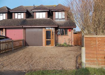 Thumbnail 3 bed semi-detached house to rent in Hever Avenue, West Kingsdown, Sevenoaks