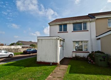 Thumbnail 2 bed end terrace house for sale in St Meriadoc Road, Camborne