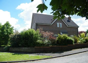 Thumbnail 4 bed semi-detached house for sale in Hillside Close, Heddington, Calne