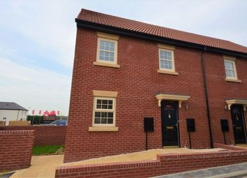 Thumbnail 2 bed town house to rent in Kempston Road, Featherstone, Pontefract