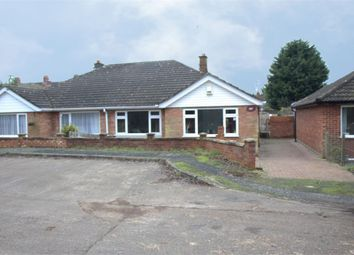 Thumbnail 3 bed semi-detached bungalow for sale in Welbourne Close, Raunds, Wellingborough, Northamptonshire