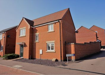 Thumbnail 3 bed detached house for sale in Long Meadow Way, Birstall, Leicester
