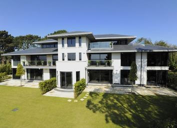 Thumbnail 4 bed flat for sale in Haig Avenue, Canford Ciffs, Poole, Dorset