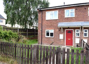 Thumbnail 3 bed end terrace house for sale in Brampton Close, Cotmanhay, Ilkeston, Derbyshire
