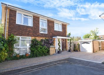 Thumbnail 4 bed detached house for sale in Leslie Gardens, Sutton
