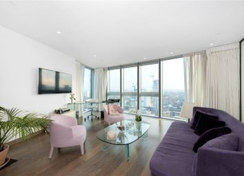 Thumbnail 1 bed flat to rent in The Tower, 1 St George Wharf, London