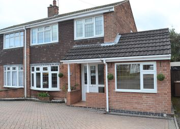 Thumbnail 3 bed semi-detached house for sale in Mayfair, Newhall, Swadlincote