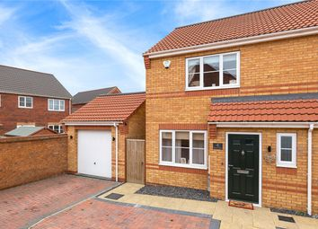 Thumbnail 2 bed semi-detached house for sale in Bourne Close, Sleaford, Lincolnshire