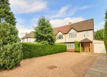 Thumbnail 4 bed semi-detached house for sale in Reigate Road, Ewell, Epsom