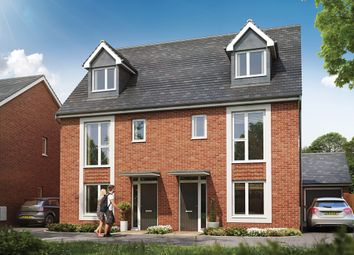 Thumbnail 4 bed semi-detached house for sale in Great Western Way, Taunton