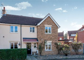 Thumbnail 4 bedroom detached house for sale in Evergreen Way, Mildenhall, Bury St. Edmunds