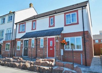 Thumbnail 3 bed semi-detached house for sale in Hartside Court, Workington