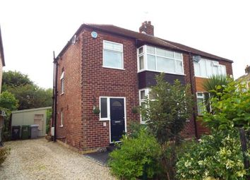 Thumbnail 3 bed semi-detached house for sale in Granville Road, Wilmslow, Cheshire