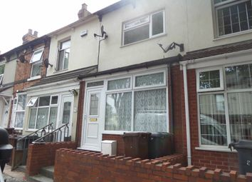 Thumbnail 4 bed terraced house to rent in Vicarage Road, All Saints, Wolverhampton, West Midlands