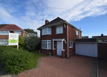 Thumbnail 3 bed detached house for sale in Malpas Drive, Bebington, Wirral