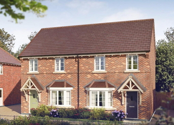 Thumbnail 3 bedroom semi-detached house for sale in The Milldale At Oaklands Park, Wyaston Road, Ashbourne