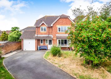 Thumbnail 4 bed detached house for sale in Wymondham Way, Melton Mowbray