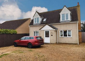 Thumbnail 3 bed detached house to rent in Back Road, Murrow, Wisbech