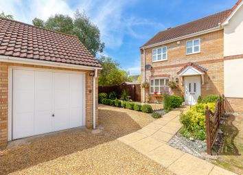 Thumbnail 3 bed semi-detached house for sale in Hunters Close, Chatteris