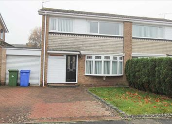 Thumbnail 3 bed semi-detached house for sale in Grassington Drive, Southfield Green, Cramlington