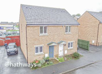Thumbnail 2 bed semi-detached house for sale in St. Dunstans Close, Griffithstown, Pontypool