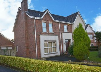 Thumbnail 5 bed detached house for sale in Waterfoot Park, Strathfoyle, Londonderry