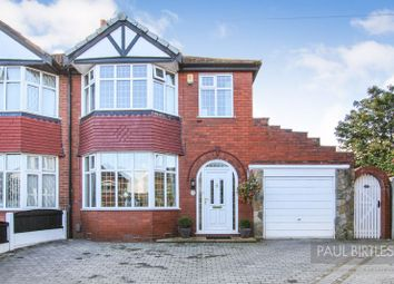 Thumbnail 3 bed semi-detached house for sale in Lowood Avenue, Davyhulme, Trafford